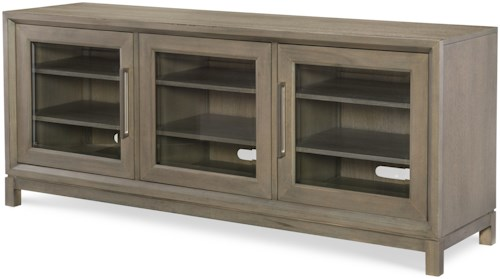 Rachael Ray Home High Line Entertainment Console with Built-in Outlet