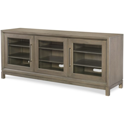 Rachael Ray Home by Legacy Classic High Line Entertainment Console with Built-in Outlet