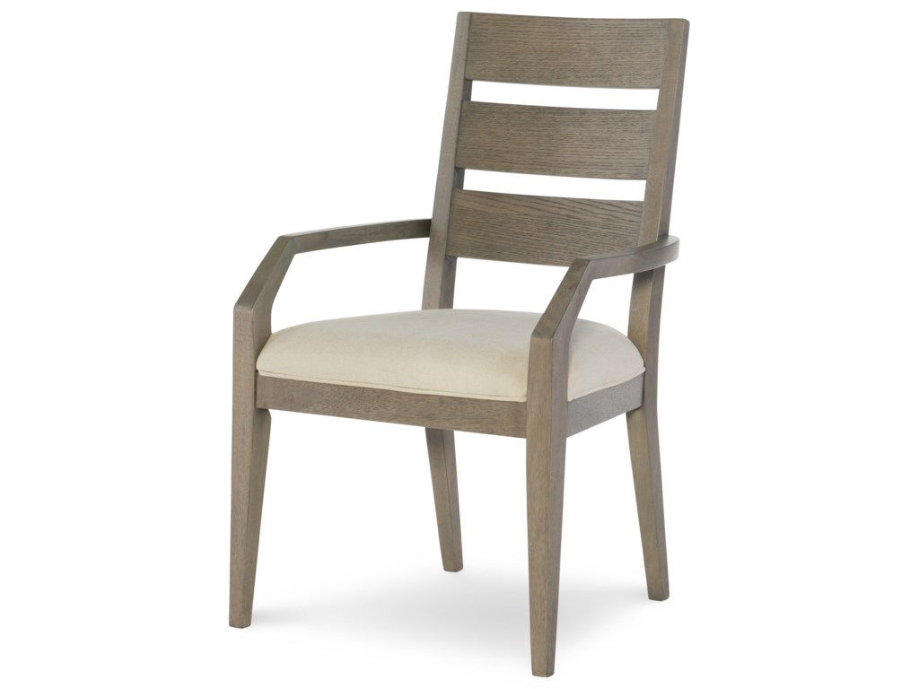 Rachael Ray Home by Legacy Classic HighlineLadder Back Arm Chair