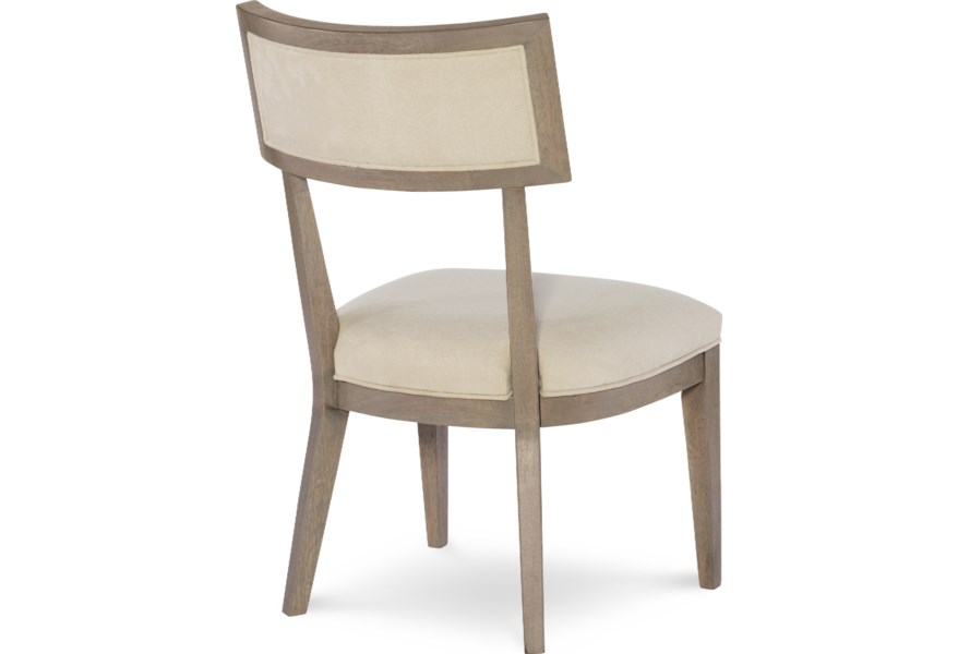 Rachael Ray Home By Legacy Classic Highline 1306803 Klismo Side Chair With Upholstered Seat And Back O Dunk O Bright Furniture Dining Side Chairs
