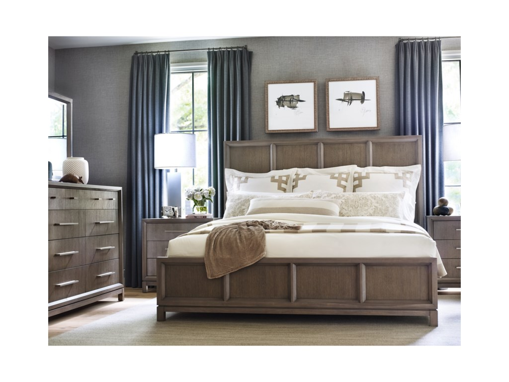 Rachael Ray Home by Legacy Classic High LineCalifornia King Panel Bed