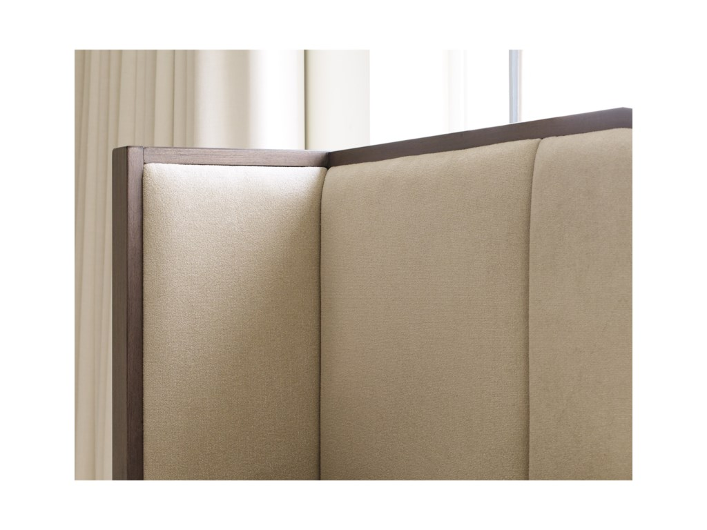 Rachael Ray Home by Legacy Classic High LineCalifornia King Upholstered Shelter Bed