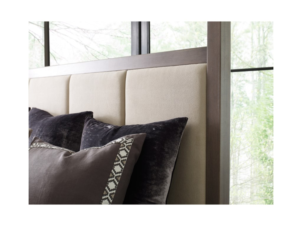 Rachael Ray Home by Legacy Classic High LineKing Upholstered Poster Bed
