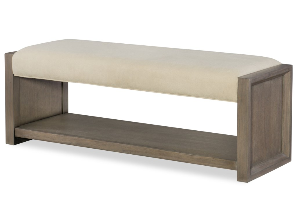 Rachael Ray Home by Legacy Classic HighlineUpholstered Bench