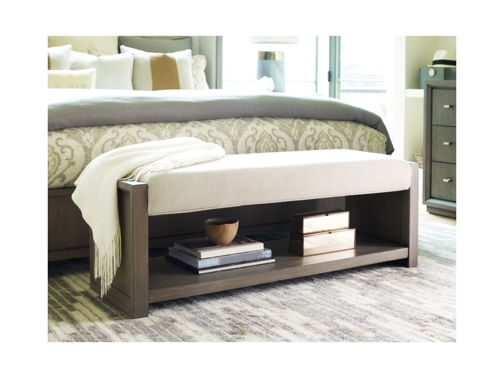Rachael Ray Home by Legacy Classic High LineUpholstered Bench