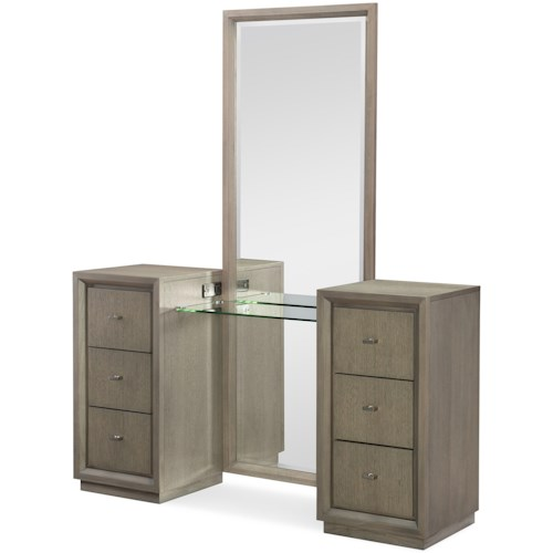 Rachael Ray Home by Legacy Classic High Line Vanity with Outlets/USB Ports