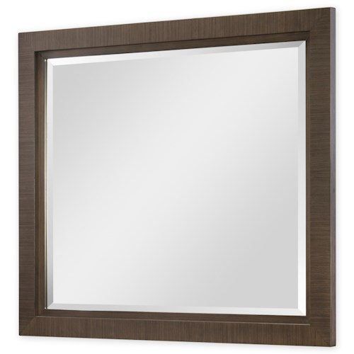 Rachael Ray Home by Legacy Classic Soho Mid-Century Modern Landscape Mirror with Beveled Detail