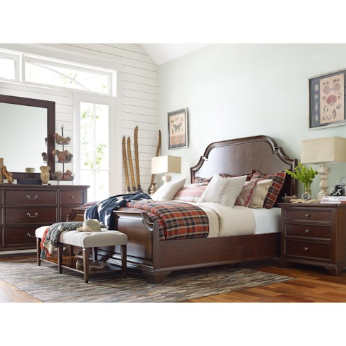 Rachael Ray Home by Legacy Classic Upstate California King Bedroom Group