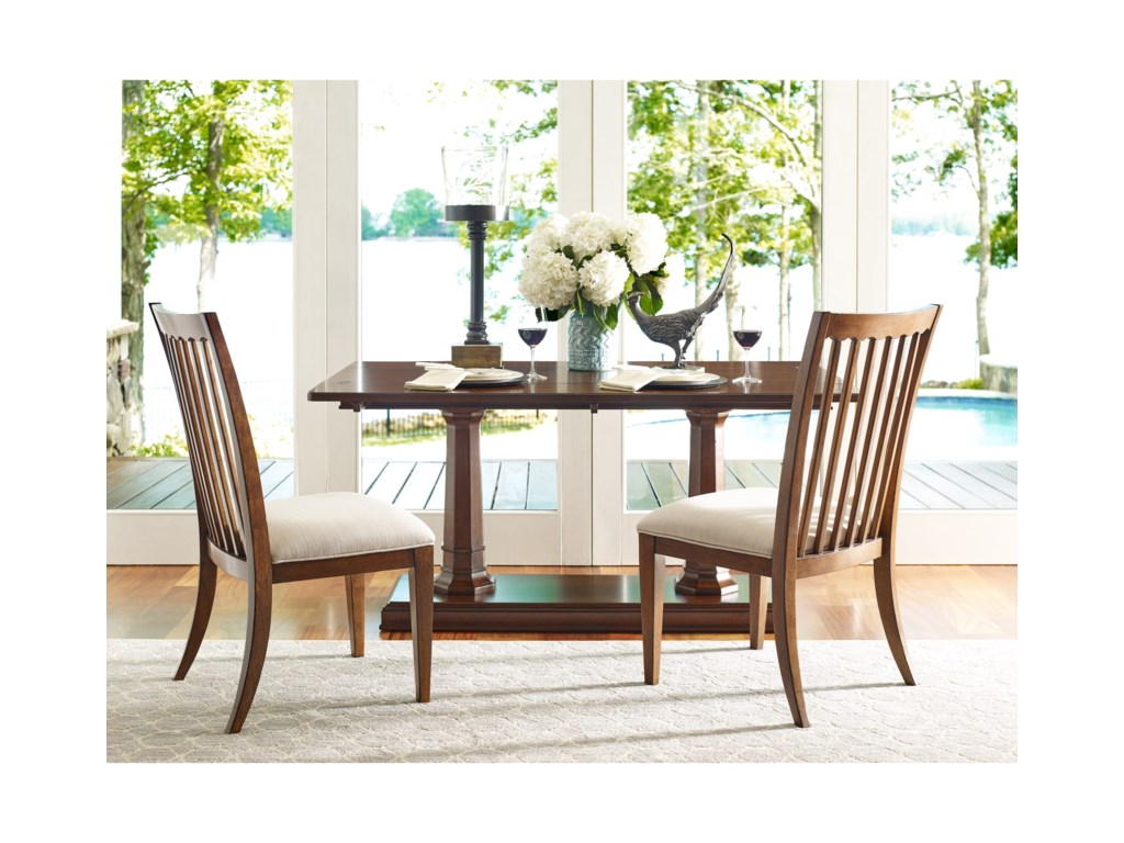 Rachael Ray Home by Legacy Classic Upstate 6040-140 KD Slat Back ...