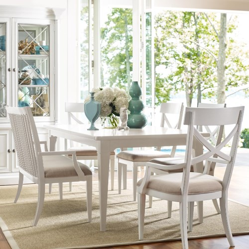 Rachael Ray Home by Legacy Classic Upstate 6 Piece Table & Chair Set with Bench