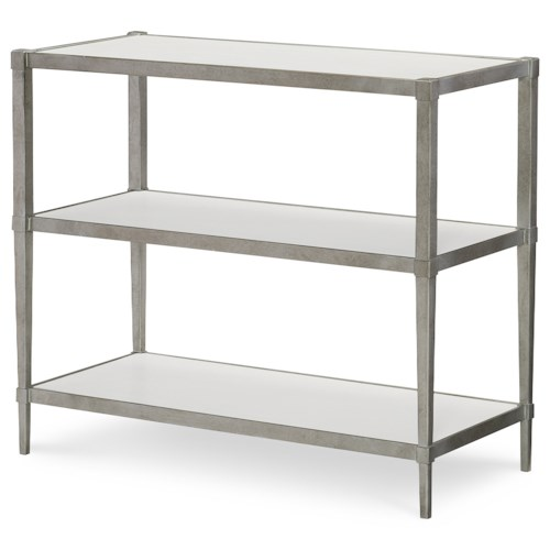 Rachael Ray Home by Legacy Classic Upstate Book Table with Three Shelves