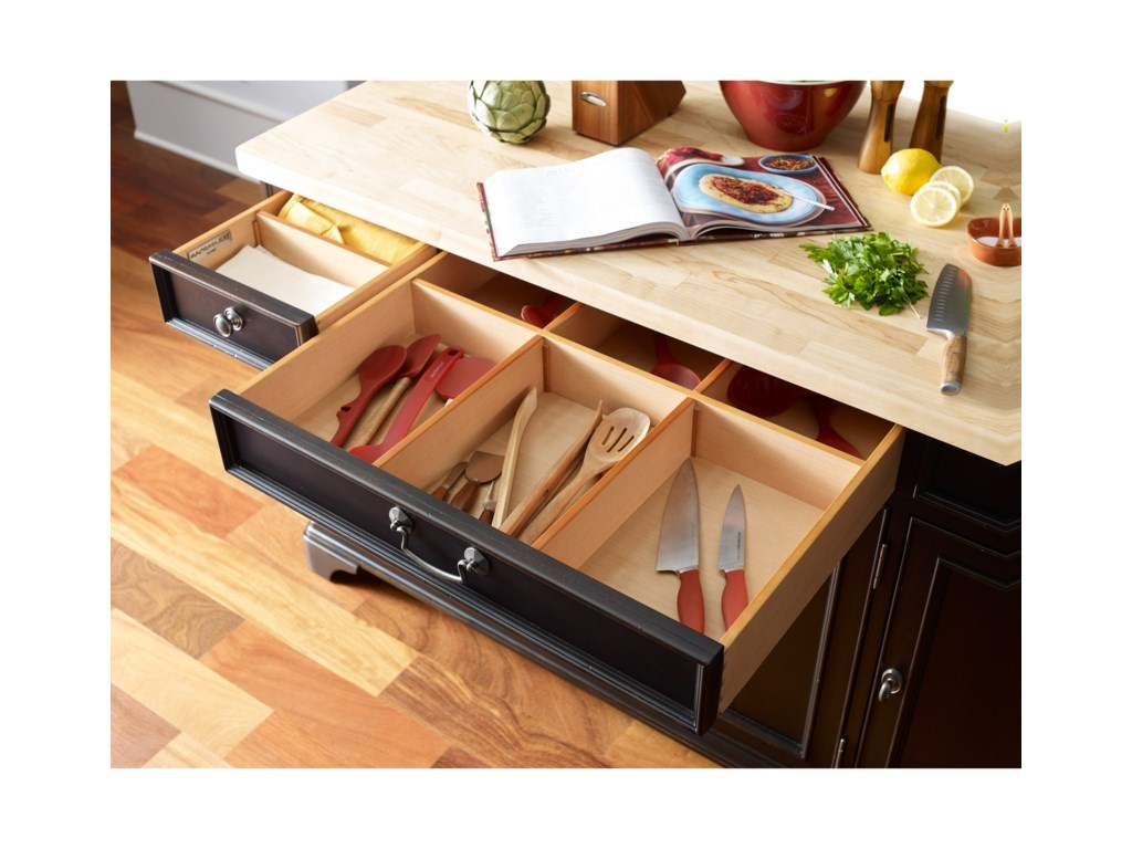 Rachael Ray Home by Legacy Classic UpstateKitchen Island