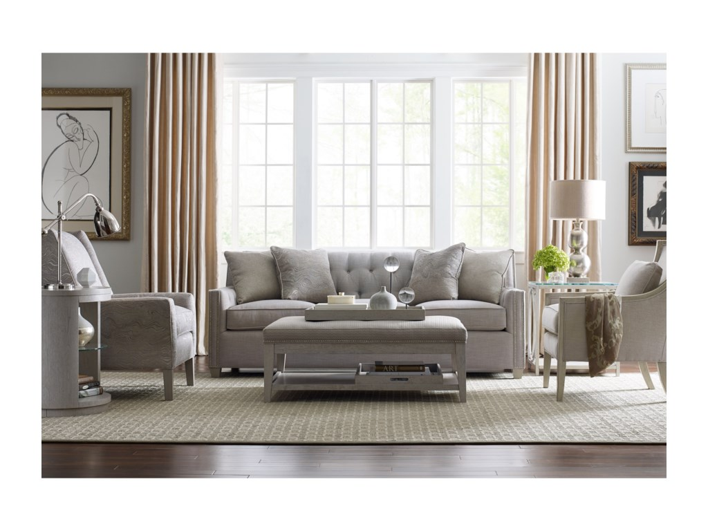 Rachael Ray Home by Craftmaster 774750Sofa w/ Pewter Nails