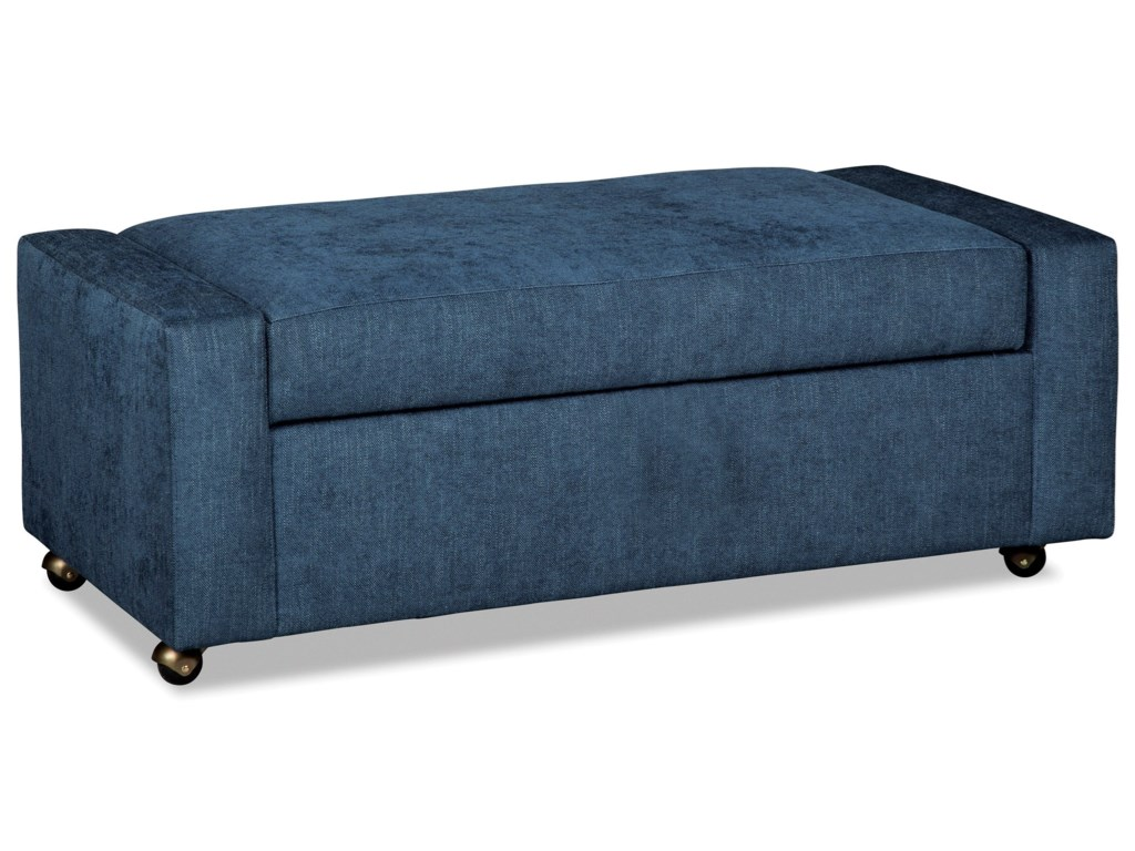 Rachael ray home by craftmaster r067900sstorage ottoman with casters