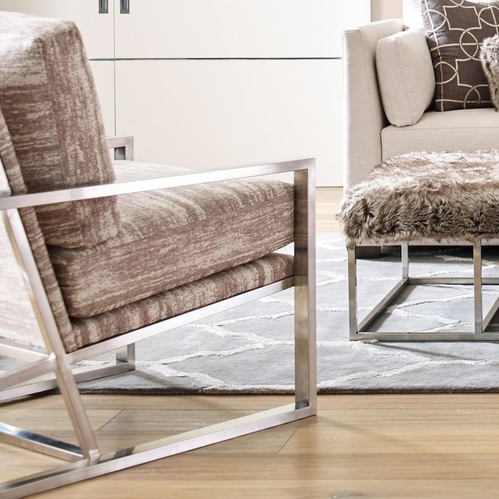 Rachael Ray Home by Craftmaster Highline Modern Upholstered Chair