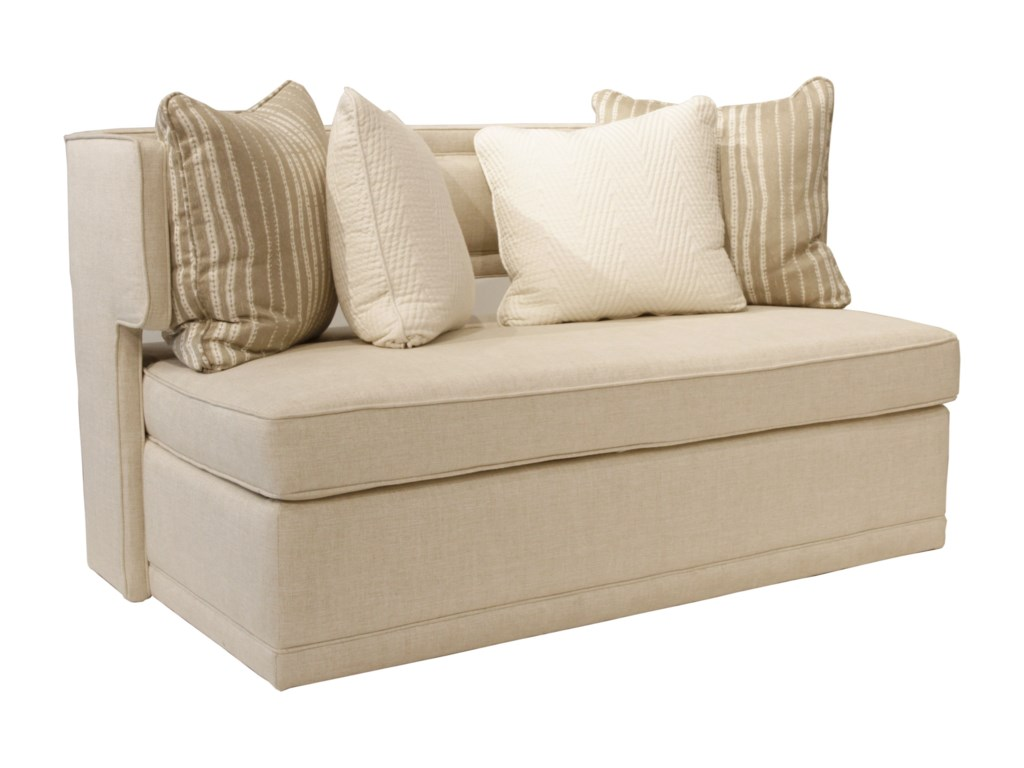 Rachael Ray Home by Craftmaster R1014Complete Sleeper Bench w/ Innerspring Matt