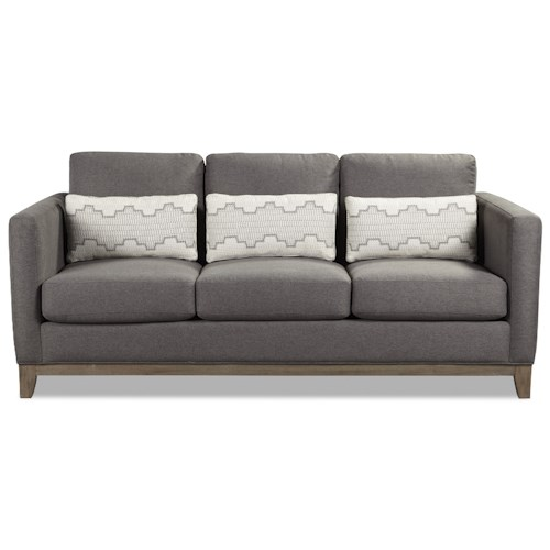 Rachael Ray Home By Craftmaster Highline Contemporary Sofa