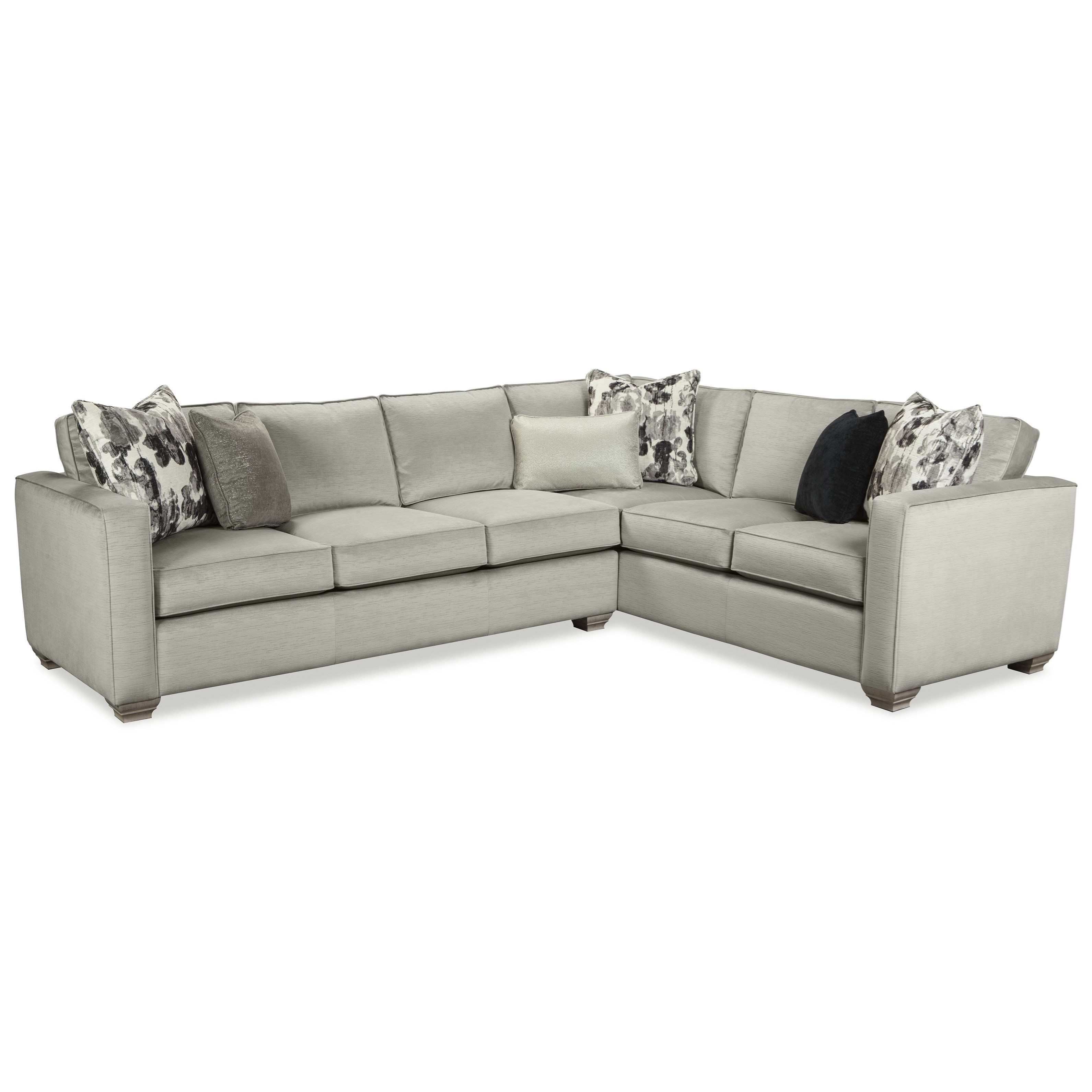Rachael Ray Home by Craftmaster R7727 Two Piece Sectional Sofa with RAF Sofa Return  sc 1 st  Colderu0027s : colders sectionals - Sectionals, Sofas & Couches