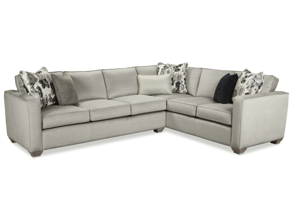 Rachael Ray Home by Craftmaster R7727 Two Piece Sectional Sofa with ...