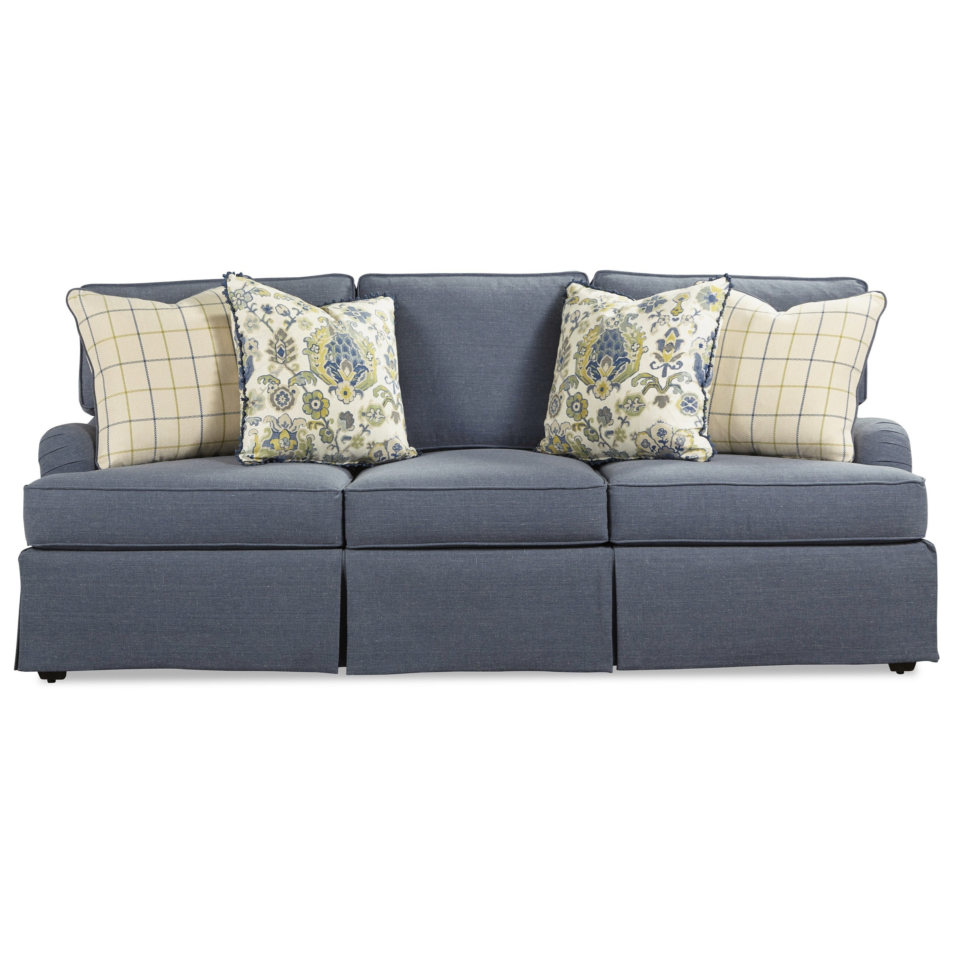 Exceptionnel Rachael Ray Home By Craftmaster R9601 Traditional Skirted Sofa