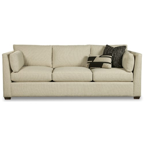 Rachael Ray Home by Craftmaster Highline Contemporary 97 Inch Three Seat Sofa