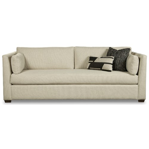 Rachael Ray Home by Craftmaster Highline Contemporary 97 Inch Bench Seat Sofa