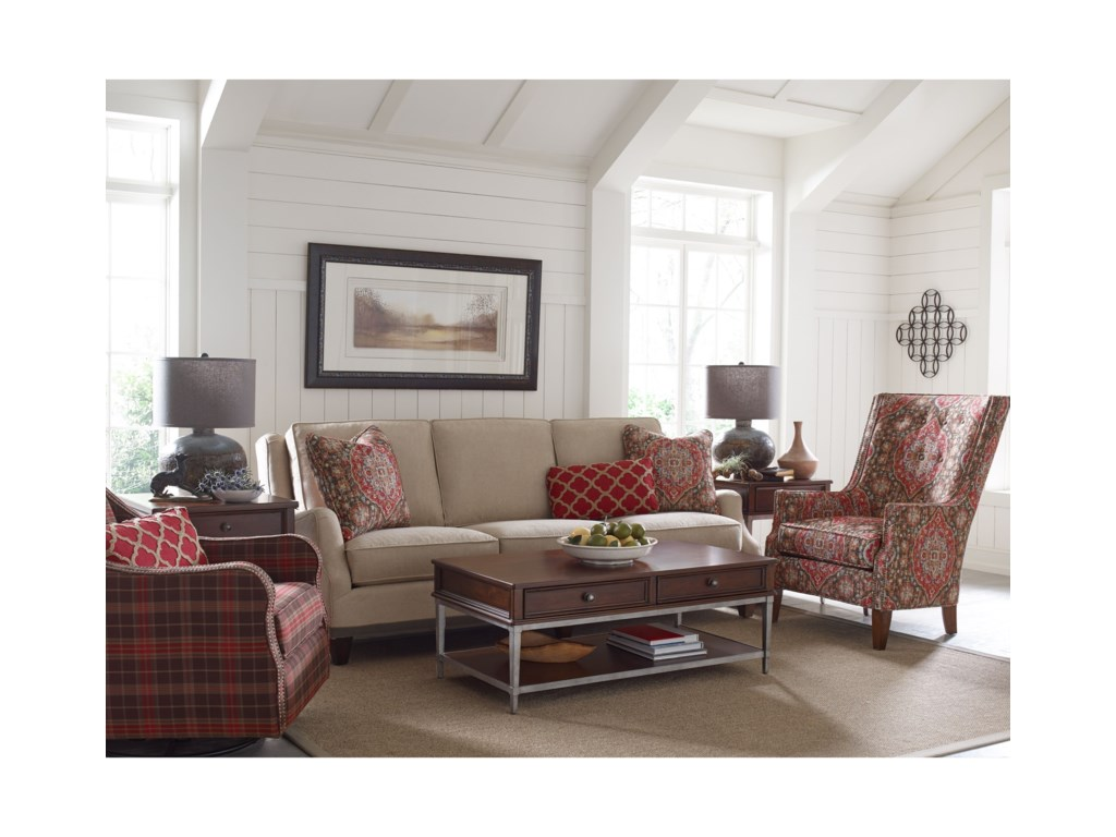 Rachael Ray Home by Craftmaster R7617 - R7618 Transitional English on home coffee tables, home furniture, home changing table, home craft table, home iron table, home modern couch, home trash bin, home lunch table, home accessories, home bed designs, home pub table, home dining table, home entertainment center, home media seating, home reading table,