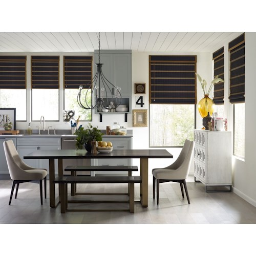 Rachael Ray Home by Legacy Classic Austin Formal Dining Room Group