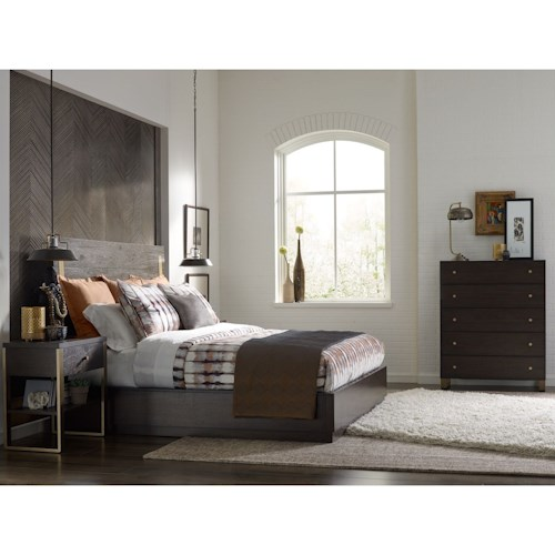 Rachael Ray Home by Legacy Classic Austin Queen Bedroom Group