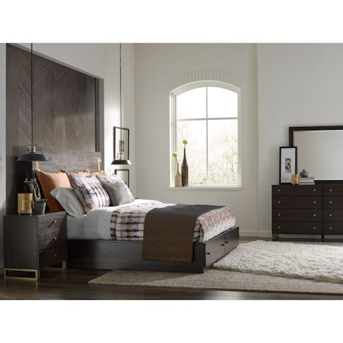 Rachael Ray Home by Legacy Classic Austin California King Bedroom Group