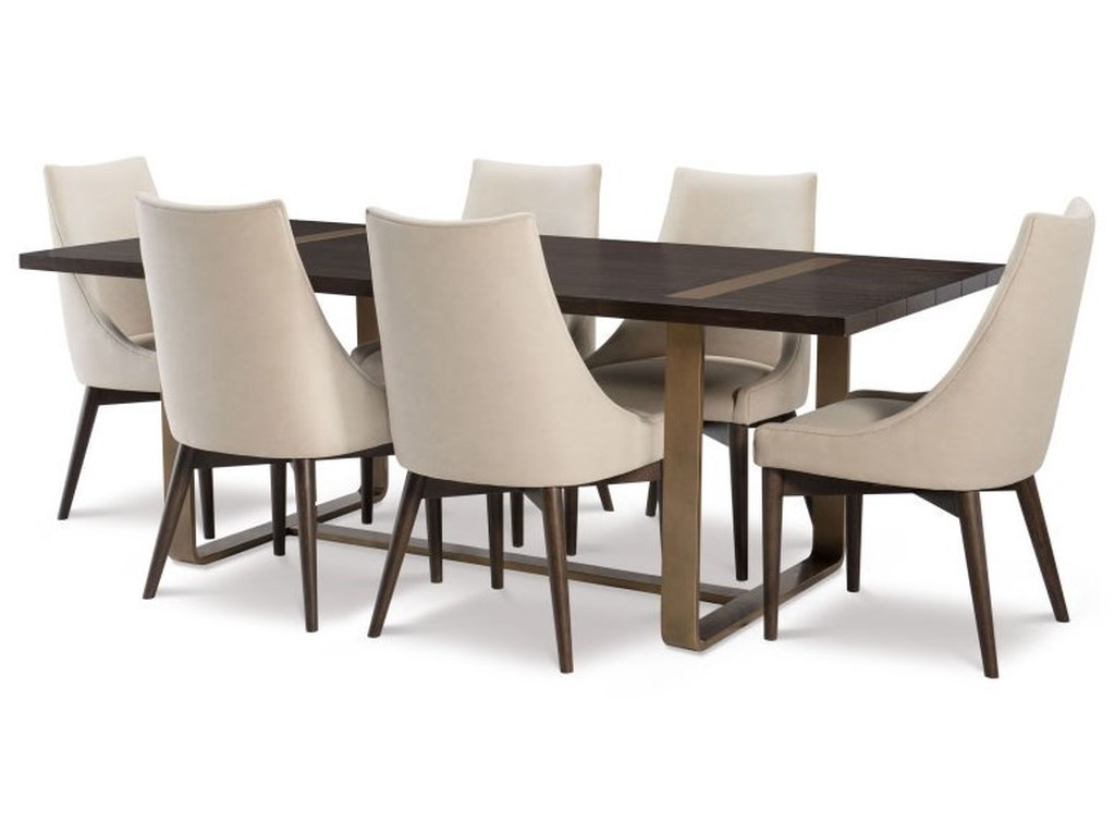 Rachael Ray Home by Legacy Classic Austin7 Piece Table and Chair Set