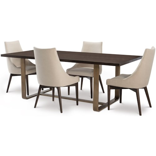 Rachael Ray Home by Legacy Classic Austin 5 Piece Rectangular Table and Chair Set
