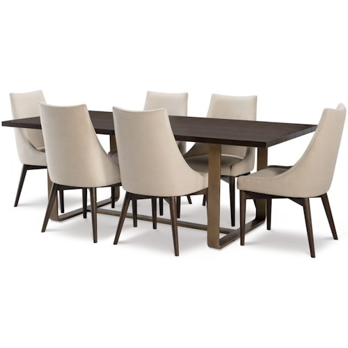 Rachael Ray Home by Legacy Classic Austin 7 Piece Rectangular Table and Chair Set