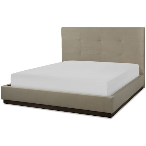 Rachael Ray Home by Legacy Classic Austin Contemporary Queen Upholstered Wall Bed