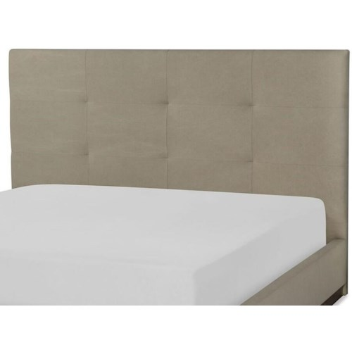 Rachael Ray Home by Legacy Classic Austin Contemporary Queen Upholstered Headboard