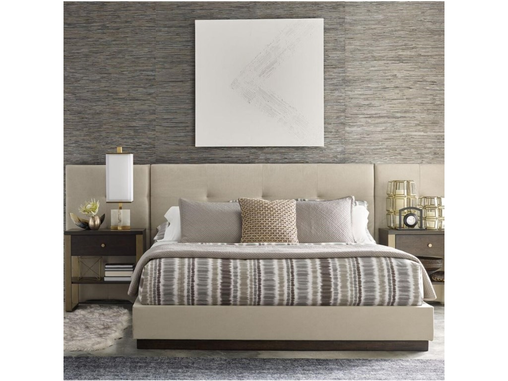Rachael Ray Home by Legacy Classic AustinQueen Upholstered Wall Bed w/Panels