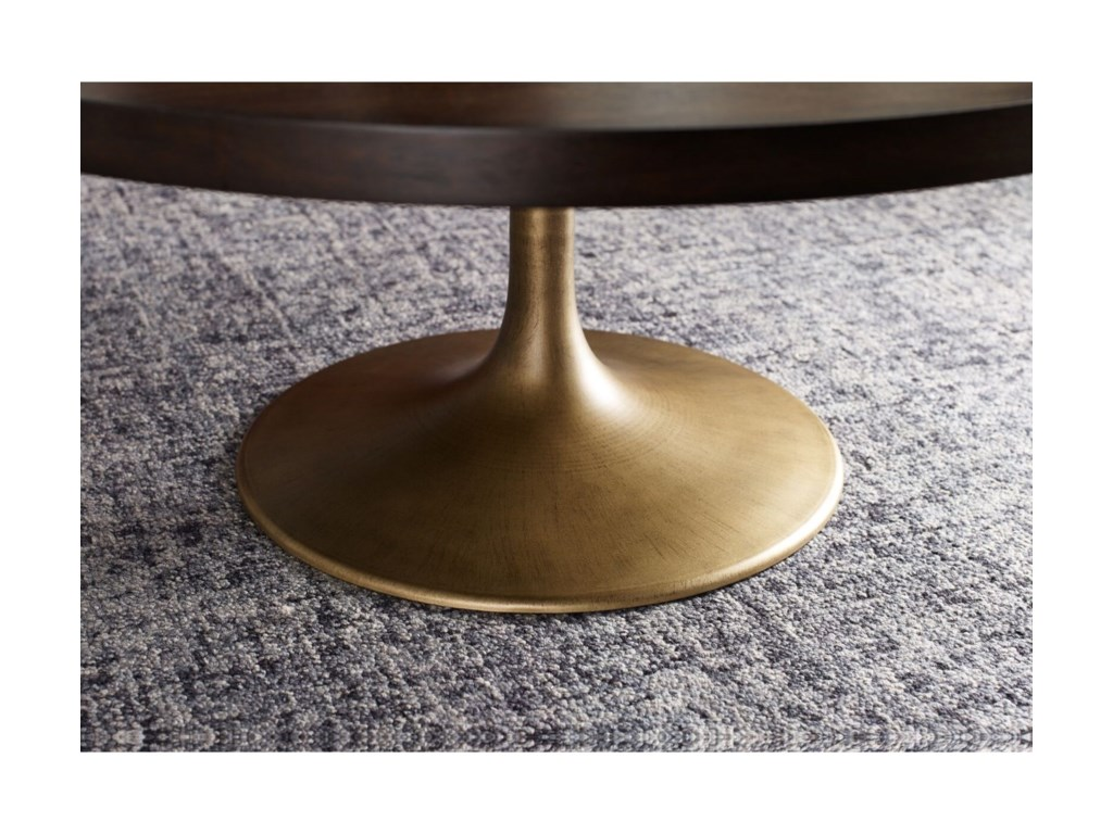 Rachael Ray Home by Legacy Classic AustinRound Pedestal Cocktail Table