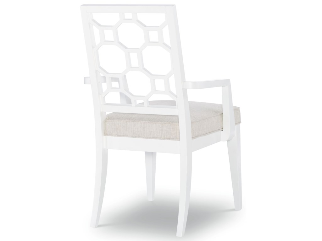 Rachael Ray Home by Legacy Classic Chelsea Splat Back Arm Chair