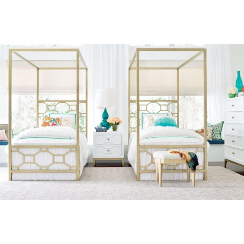 Rachael Ray Home by Legacy Classic Chelsea Twin Bedroom Group