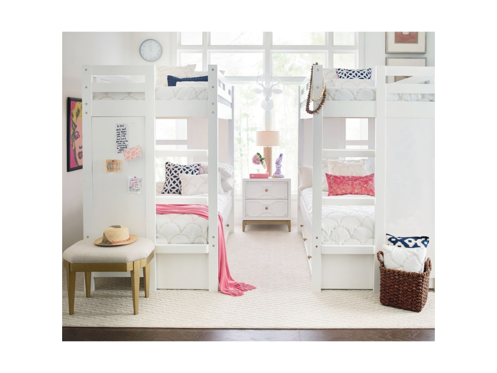 Rachael Ray Home by Legacy Classic ChelseaTwin Bunk Bedroom Group