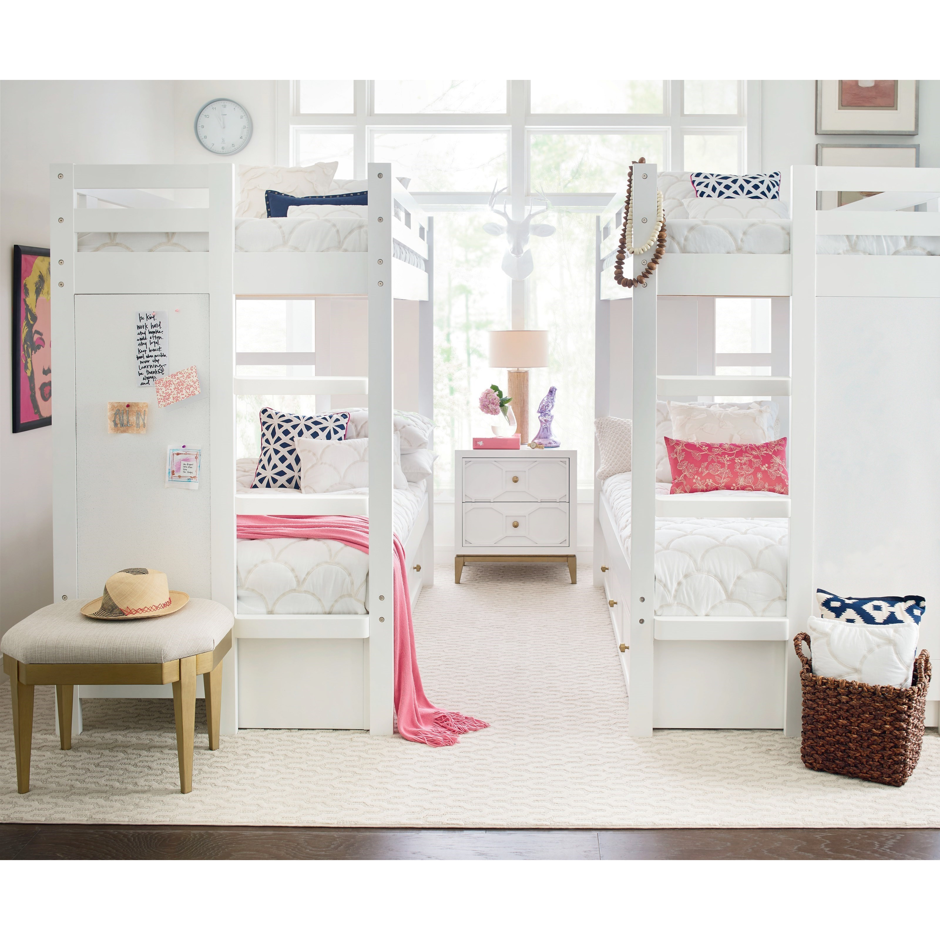 Rachael Ray Home By Legacy Classic Chelsea Twin Bunk Bedroom Group