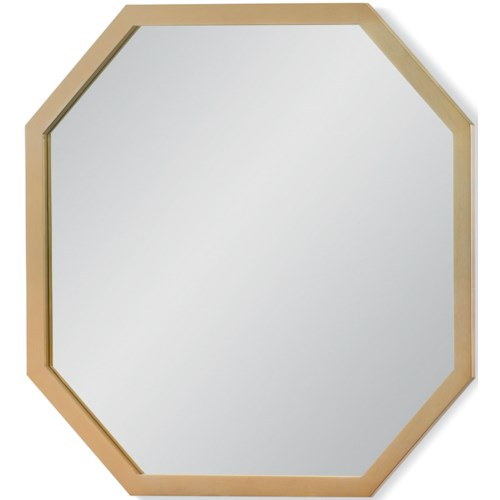 Rachael Ray Home by Legacy Classic Chelsea Gold Finished Octagonal Mirror