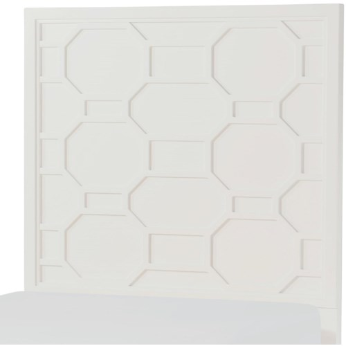 Rachael Ray Home by Legacy Classic Chelsea Twin Panel Headboard with Lattice Design