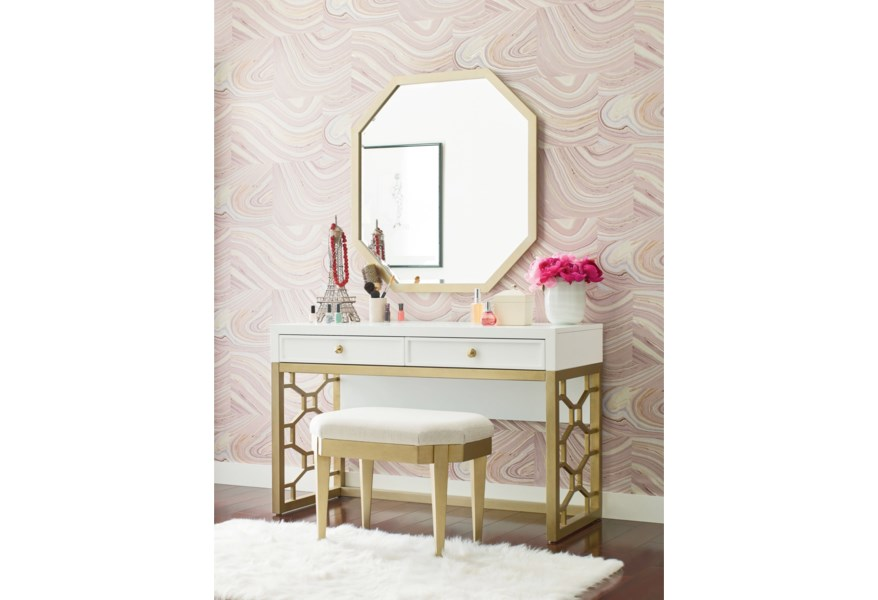 Rachael Ray Home by Legacy Classic Chelsea White and Gold ...