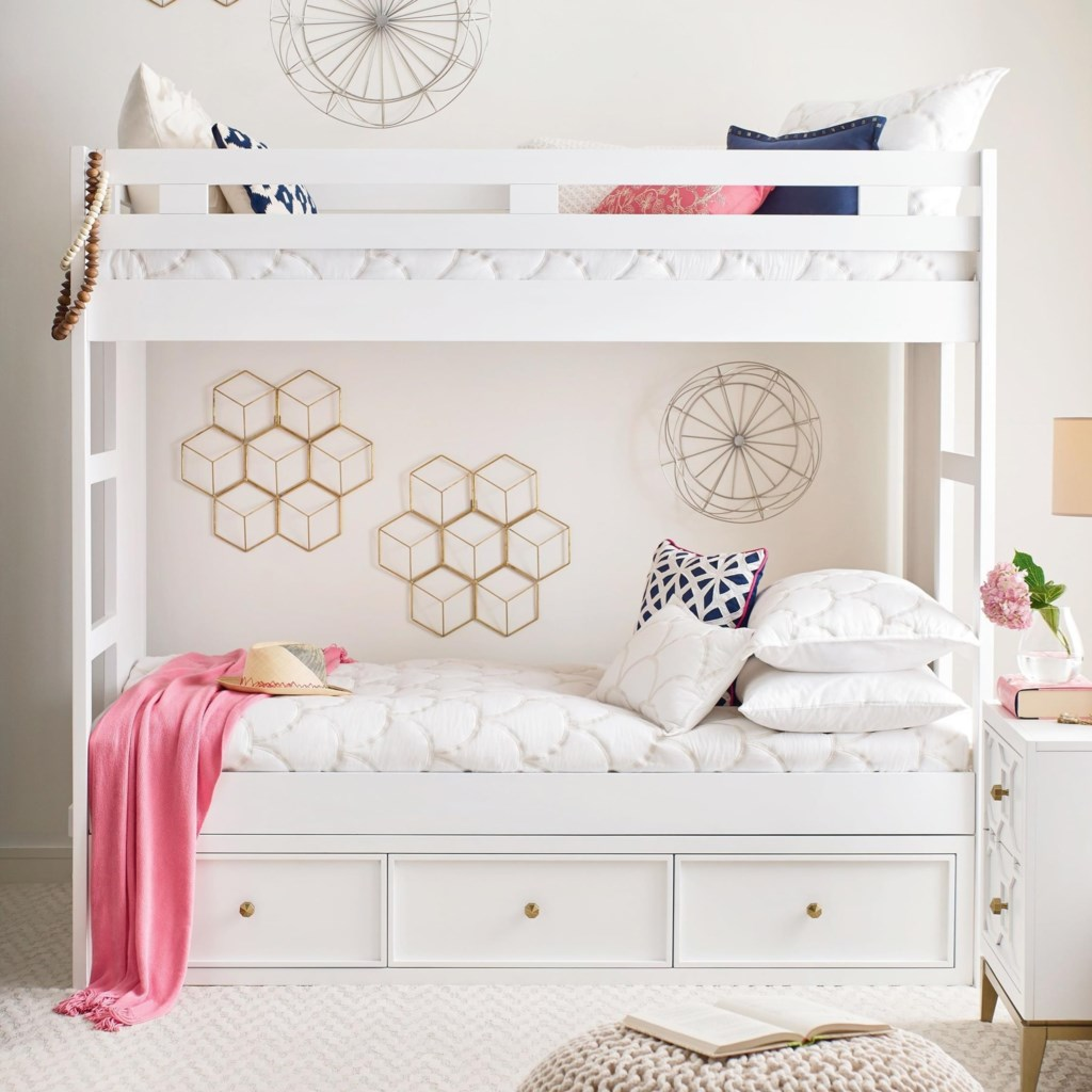 Rachael Ray Home By Legacy Classic Chelsea Twin Over Twin Bunk Bed