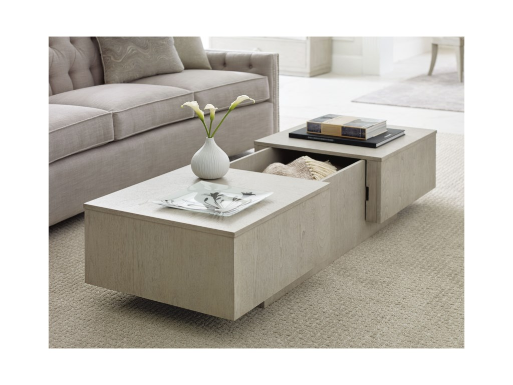 Rachael Ray Home by Legacy Classic CinemaSliding Top Cocktail Table