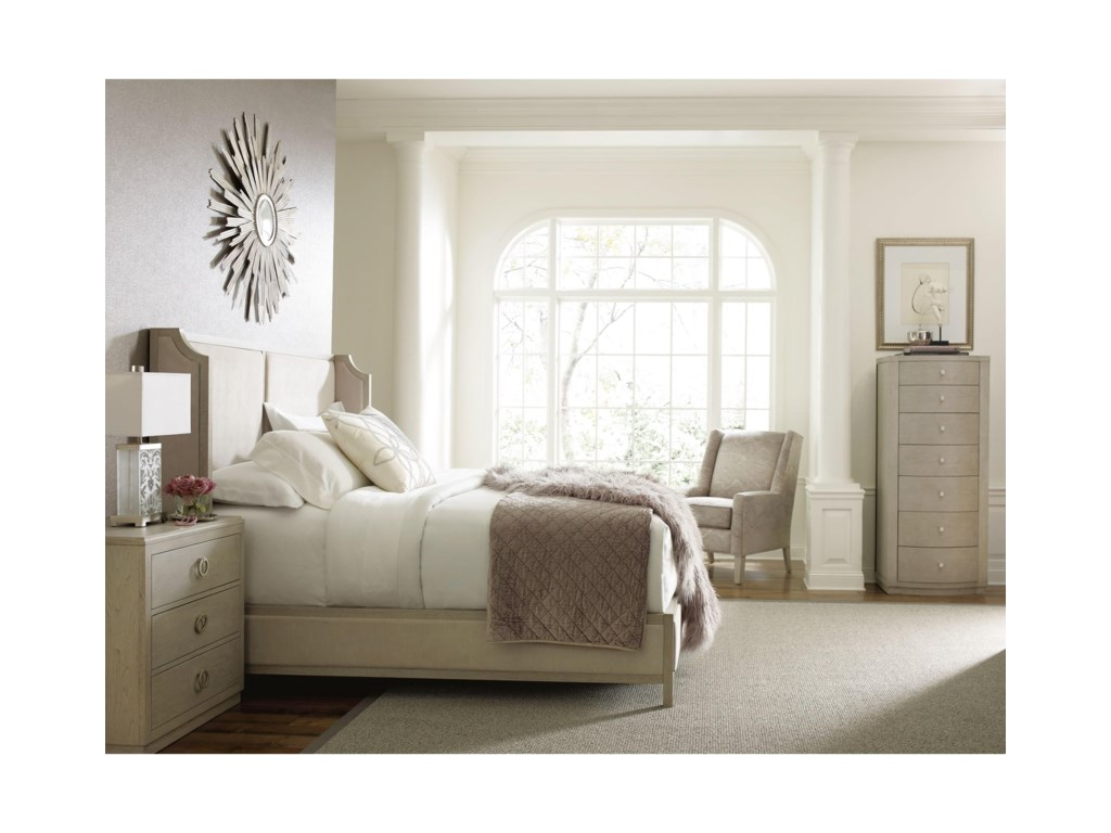 Rachael Ray Home by Legacy Classic CinemaQueen Upholstered Shelter Bed