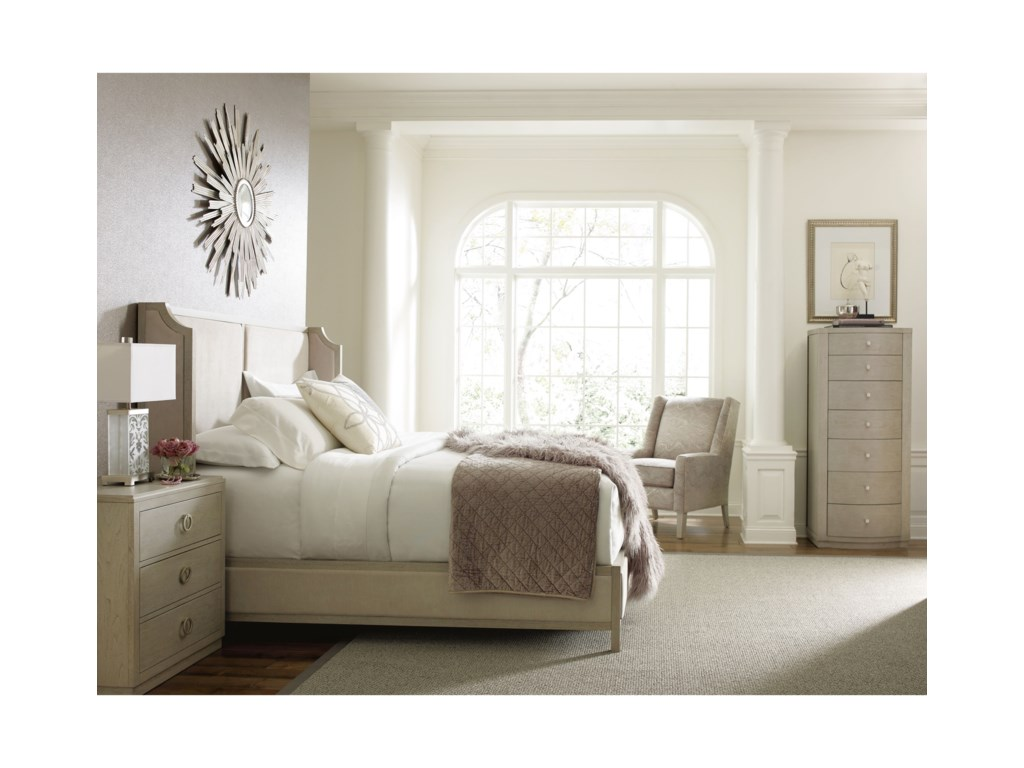 Rachael Ray Home by Legacy Classic CinemaKing Upholstered Shelter Bed