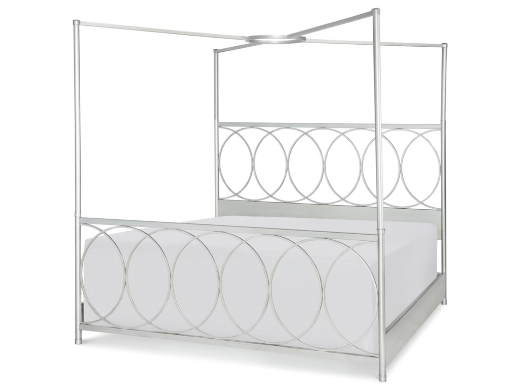 Rachael Ray Home by Legacy Classic CinemaQueen Metal Canopy Bed