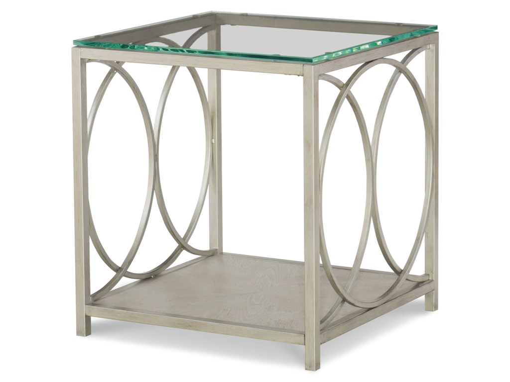 Rachael Ray Home by Legacy Classic CinemaGlass Top End Table
